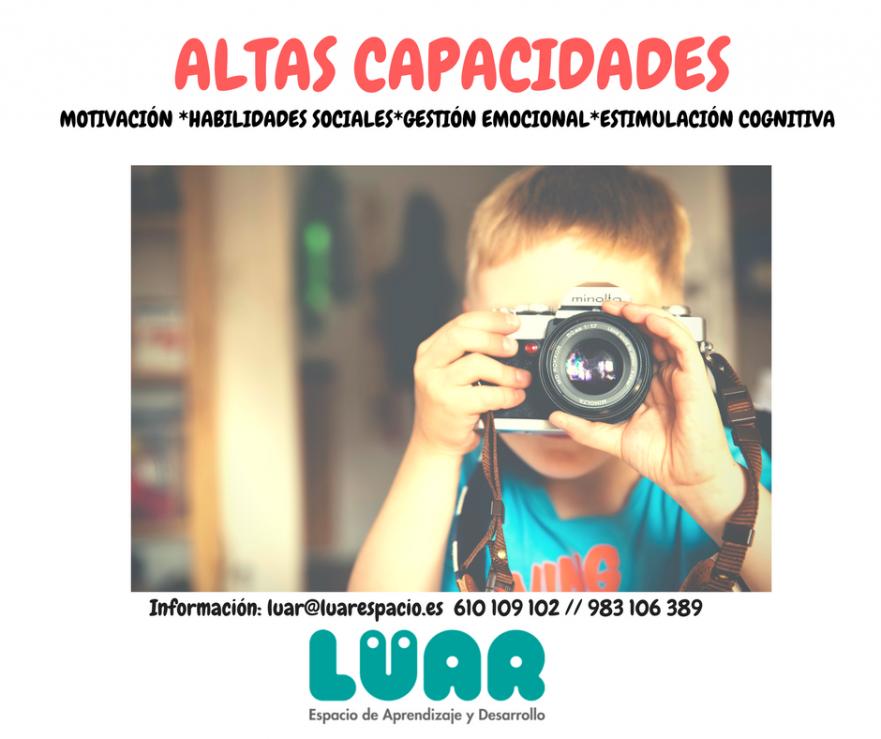 Altas capacidades Valladolid