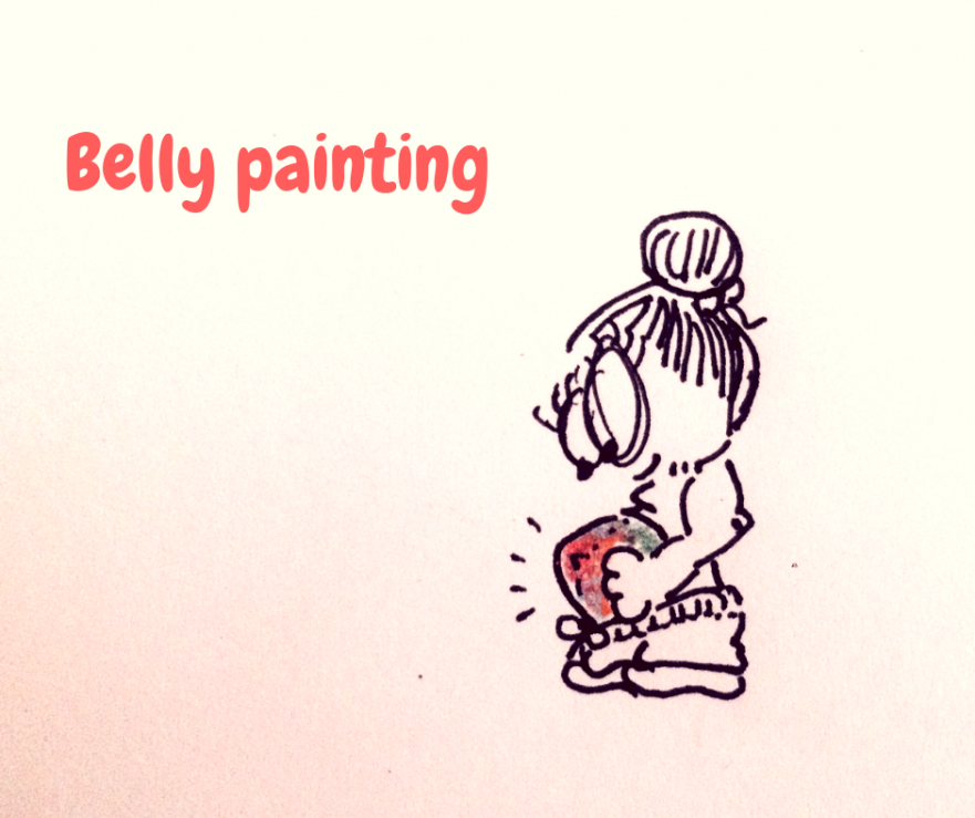 Belly painting Valladolid