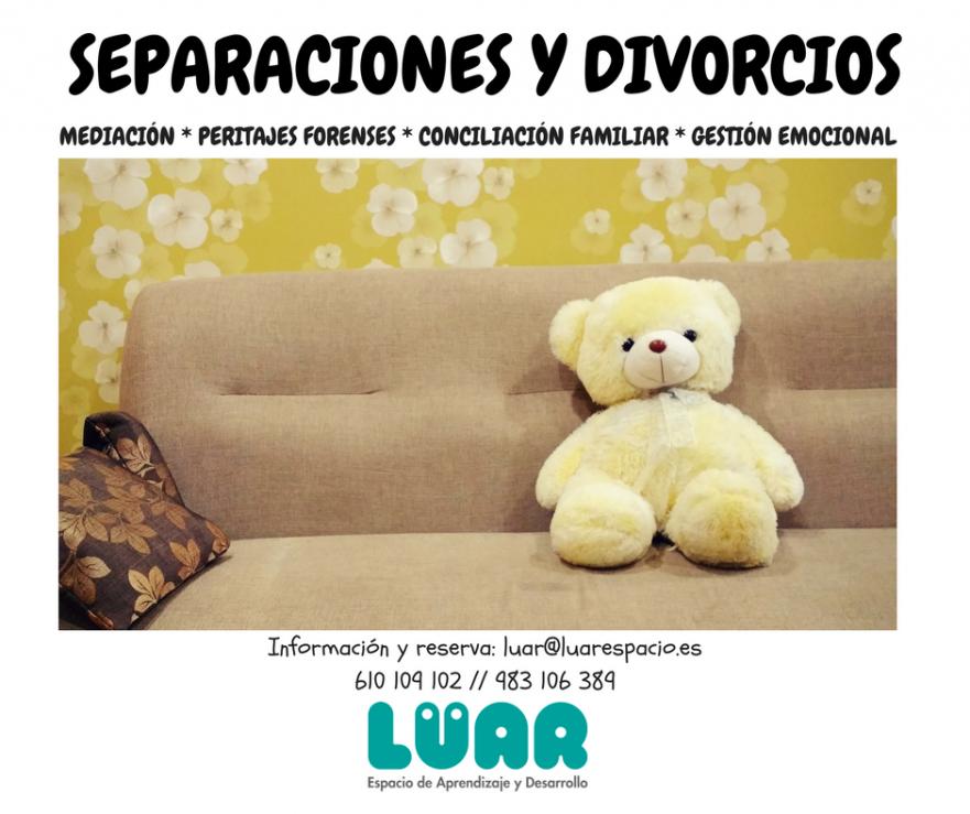 Separaciones divorcios peritajes mediacion